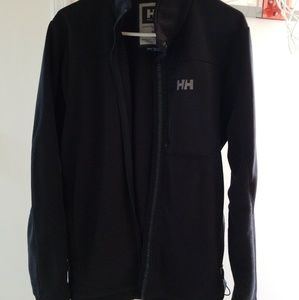 Mens Helly Hansen Black Fleece Jacket